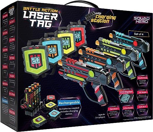 Squad Hero Rechargeable Laser Tag Set - The Best Premium Laser Tag Set