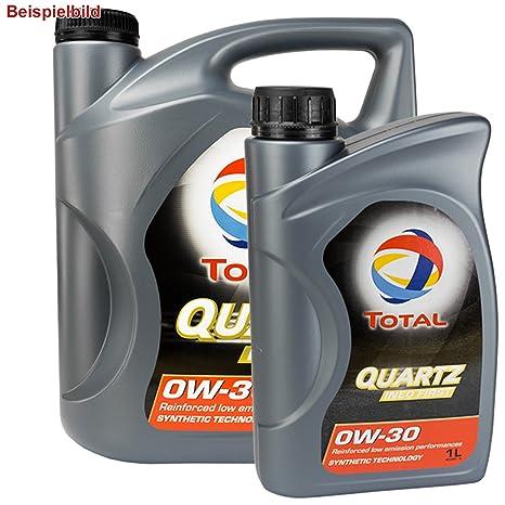6 litros total Quartz Ineo First 0W30