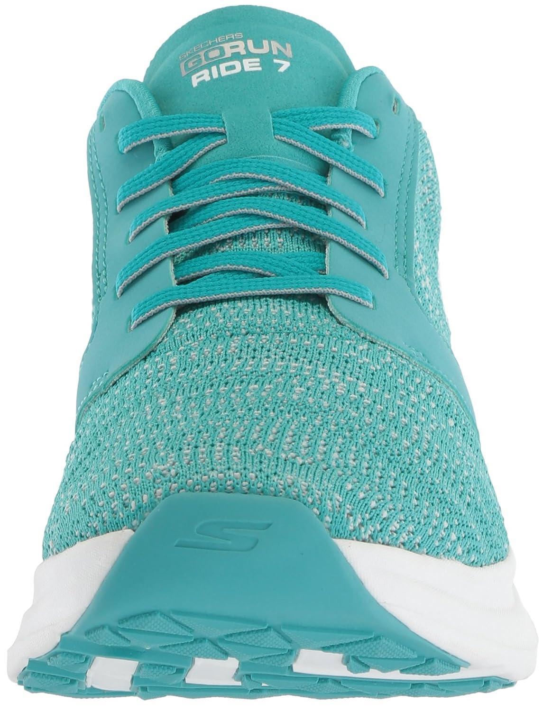 Skechers Women's Go Ride 7 Running Shoe B073GCGNHY 6.5 B(M) US|Turquoise