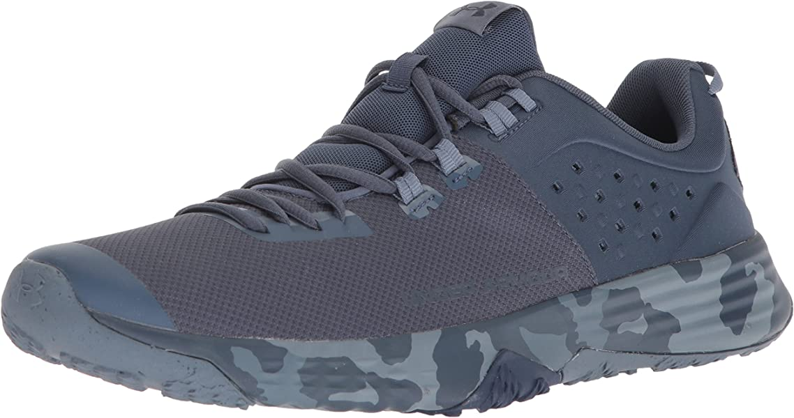 7018c2c3134 Under Armour Men s BAM Trainer Valor Sneaker Faded Navy (400) Academy 7