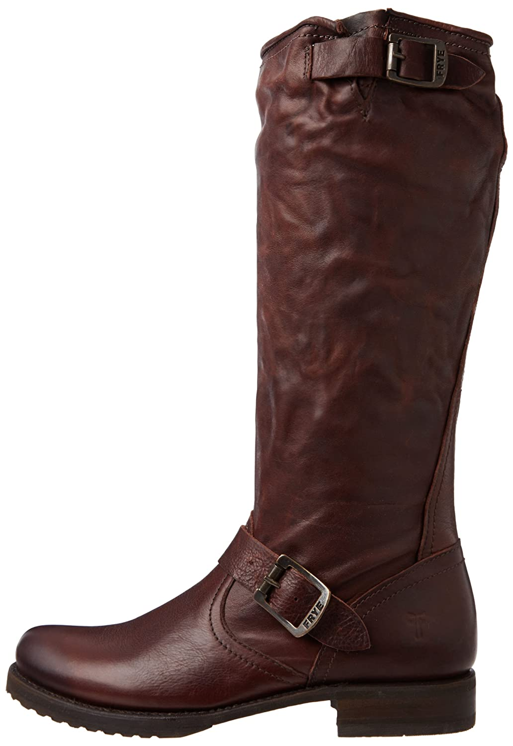 FRYE Women's Veronica Slouch Boot B008BULPGY 11 B(M) US|Dark Brown Soft Vintage Leather-76602
