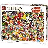 King Kng05546 Fussball Puzzle Div Amazon De Spielzeug