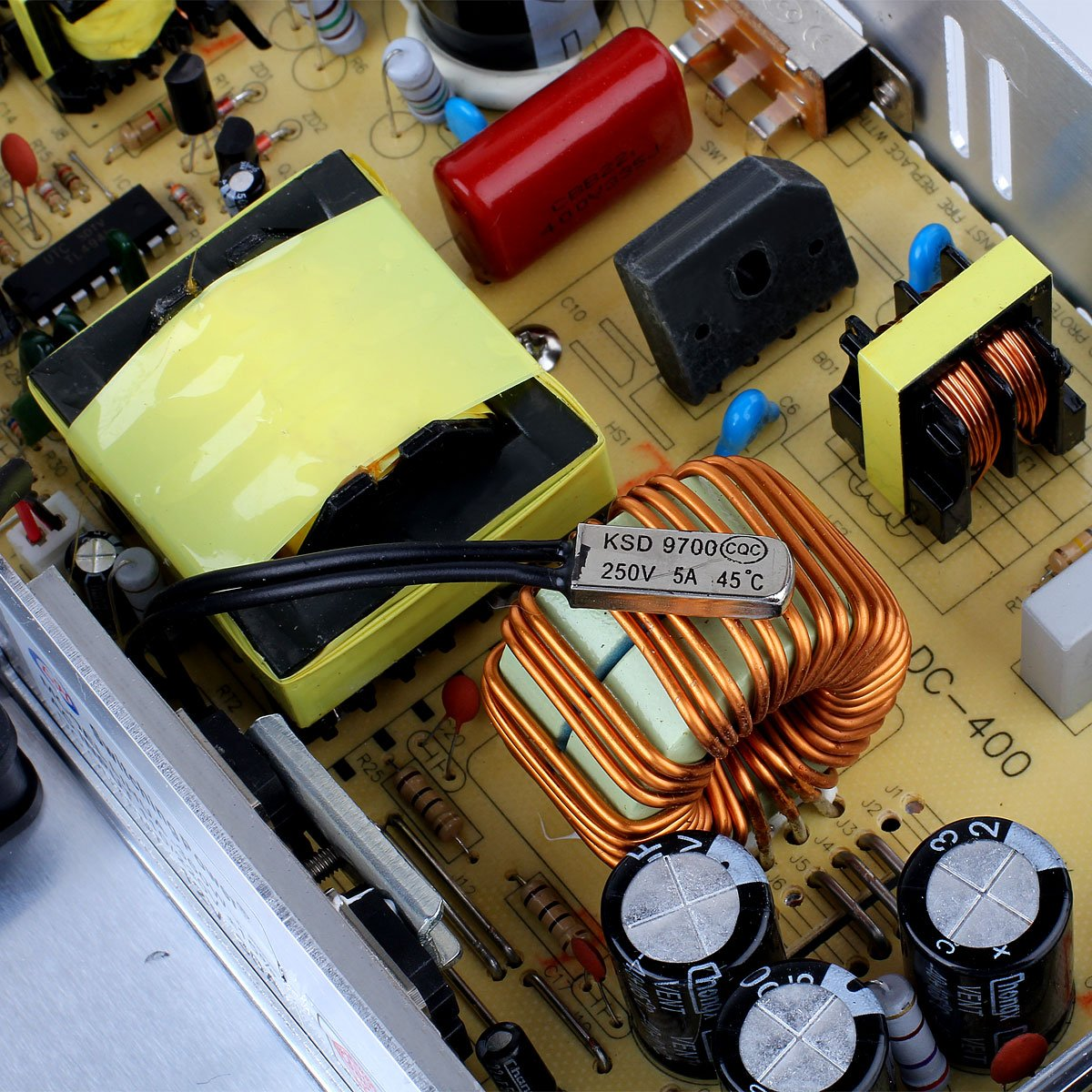 EPBOWPT 12V 30A Universal Regulated Switching Power Supply Driver for LED Strip Light CCTV Radio Computer Project by EPBOWPT (Image #6)