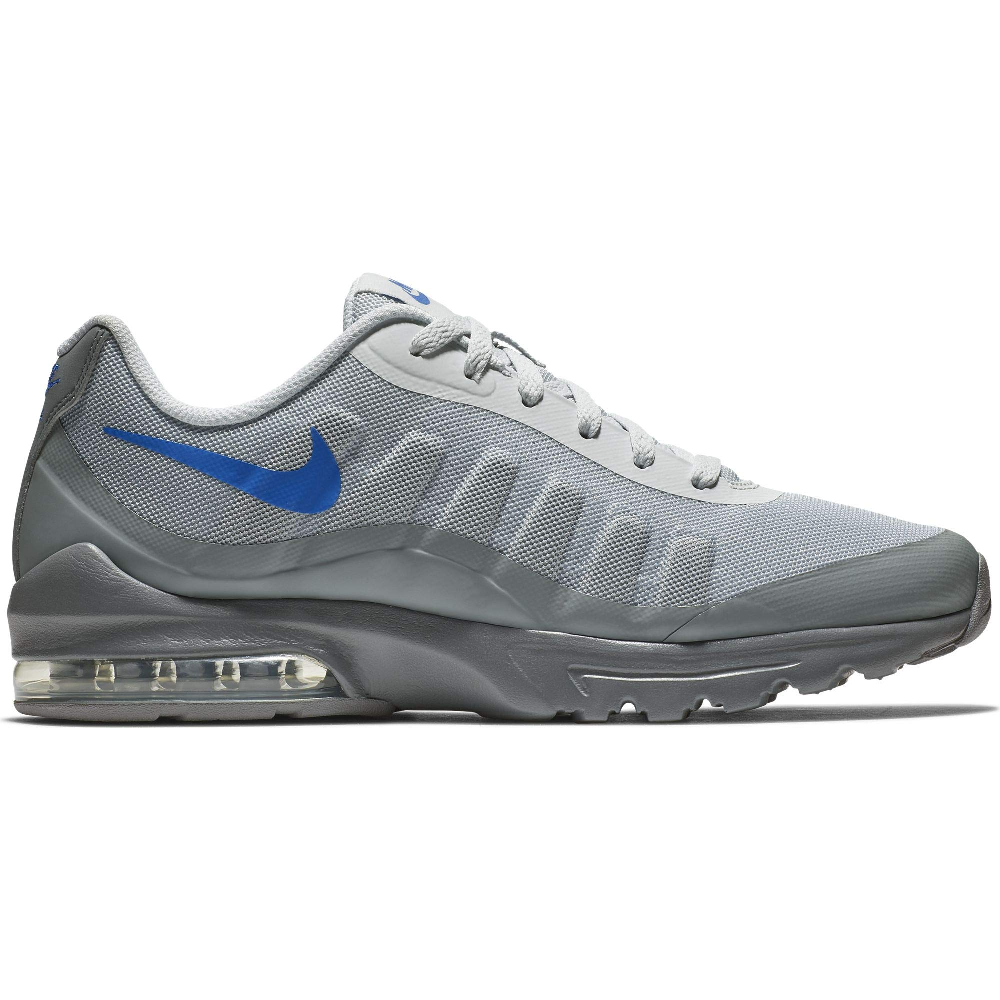 lowest price 08972 53487 Nike Men s Air Max Invigor Print Shoe Pure Platinum Hyper Royal Cool Grey  Size