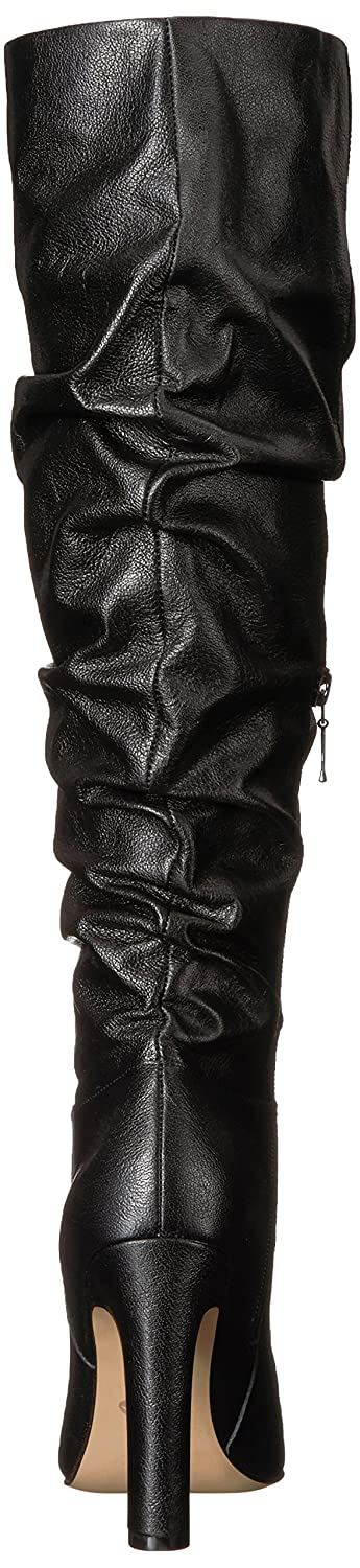 The Fix Women's Kennedi B074JPC2PD Pointed-Toe to-The-Knee Slouch Boot B074JPC2PD Kennedi 7.5 M US|Black Leather a308ed