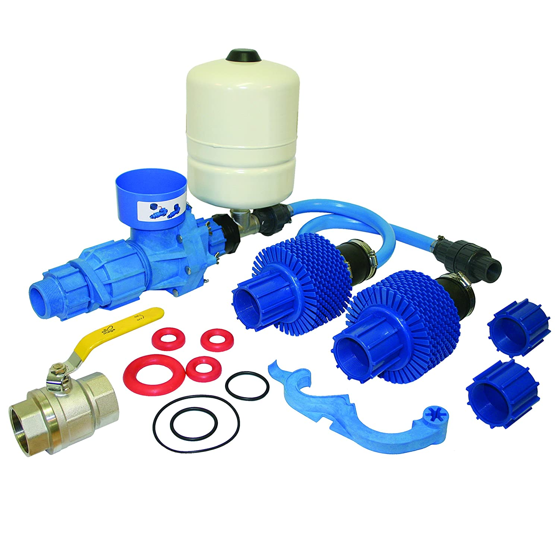 Papa Pump Hydraulic Ram Water Pump System 2 inch Composite Kit