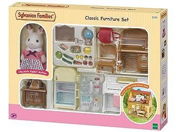 Imaginar Classic Starter Accesoriosepoch Muñecas Mini 5220 Sylvanian Cottage Y Families Para Furniture Home For Cosy Set Rq5j4Lc3A