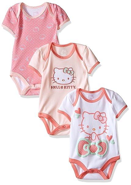 Amazon.com: Hello Kitty – Traje de bebé para niña: Clothing