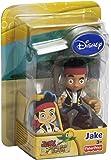 Jake y los piratas - Muñeco de acción, Pirata Jake (Mattel X8167)