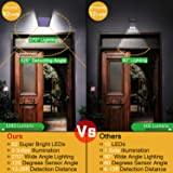 Solar Lights Outdoor, Mitaohoh 82 LEDs Wireless
