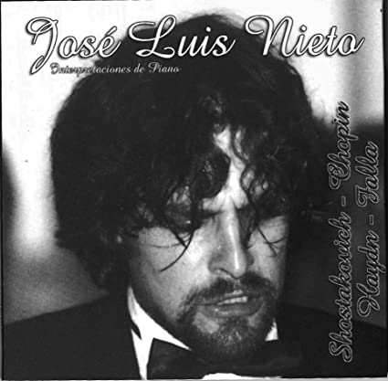 Interpretaciones de Piano CD | José Luis Nieto piano: Amazon.es ...
