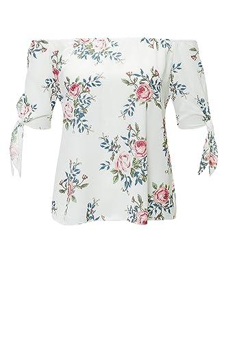 Hailys - Camisas - Sin tirantes - Floral - para mujer