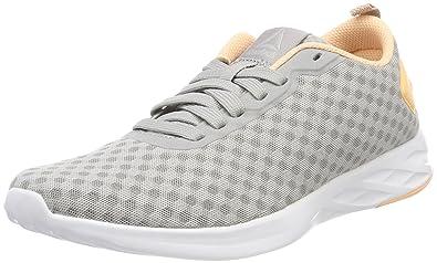Reebok Cm9132, Chaussures de Gymnastique Femme, Gris (Stark Greydesert Glowwhite), 38.5 EU