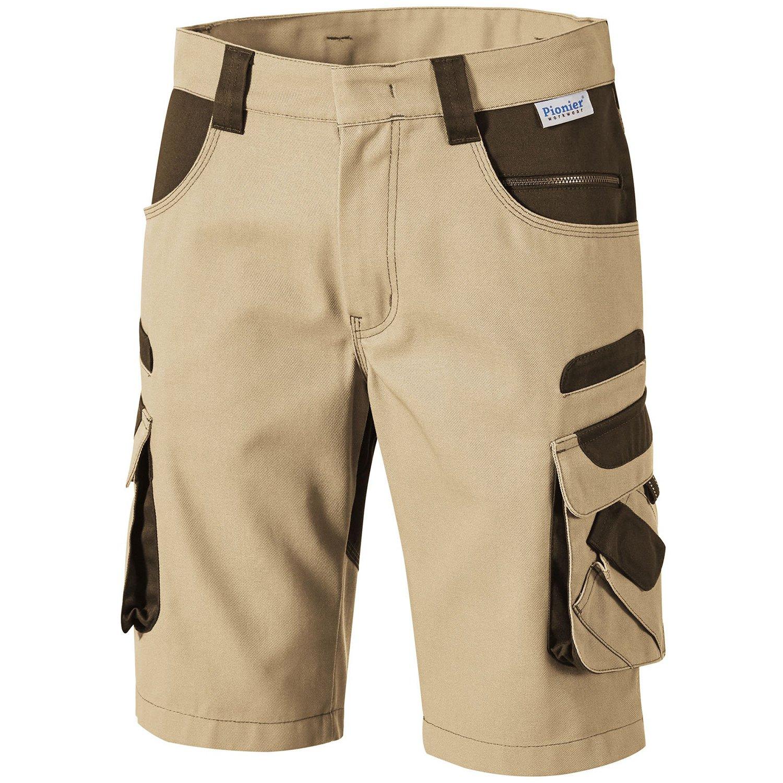 Pionier ® workwear Herren Bermuda Tools in beige (Art.Nr.5386)