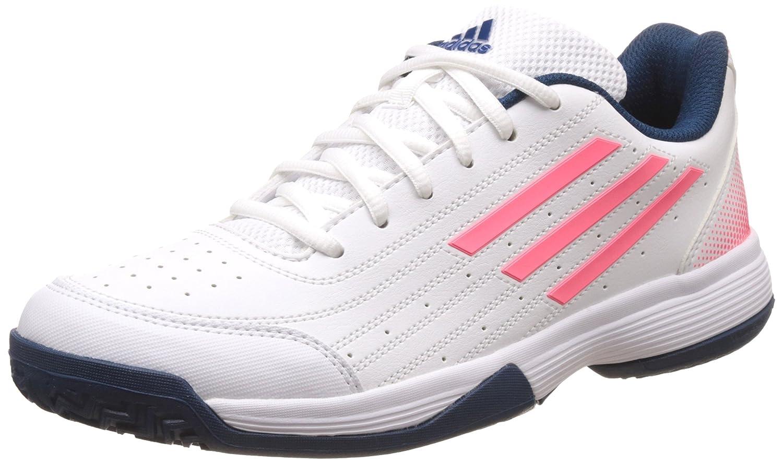 adidas/アディダス 71 SONIC ATTACK K テニスオールコートJ (bb4123) B01GIAZGCWRUNWHT/テックステ 255