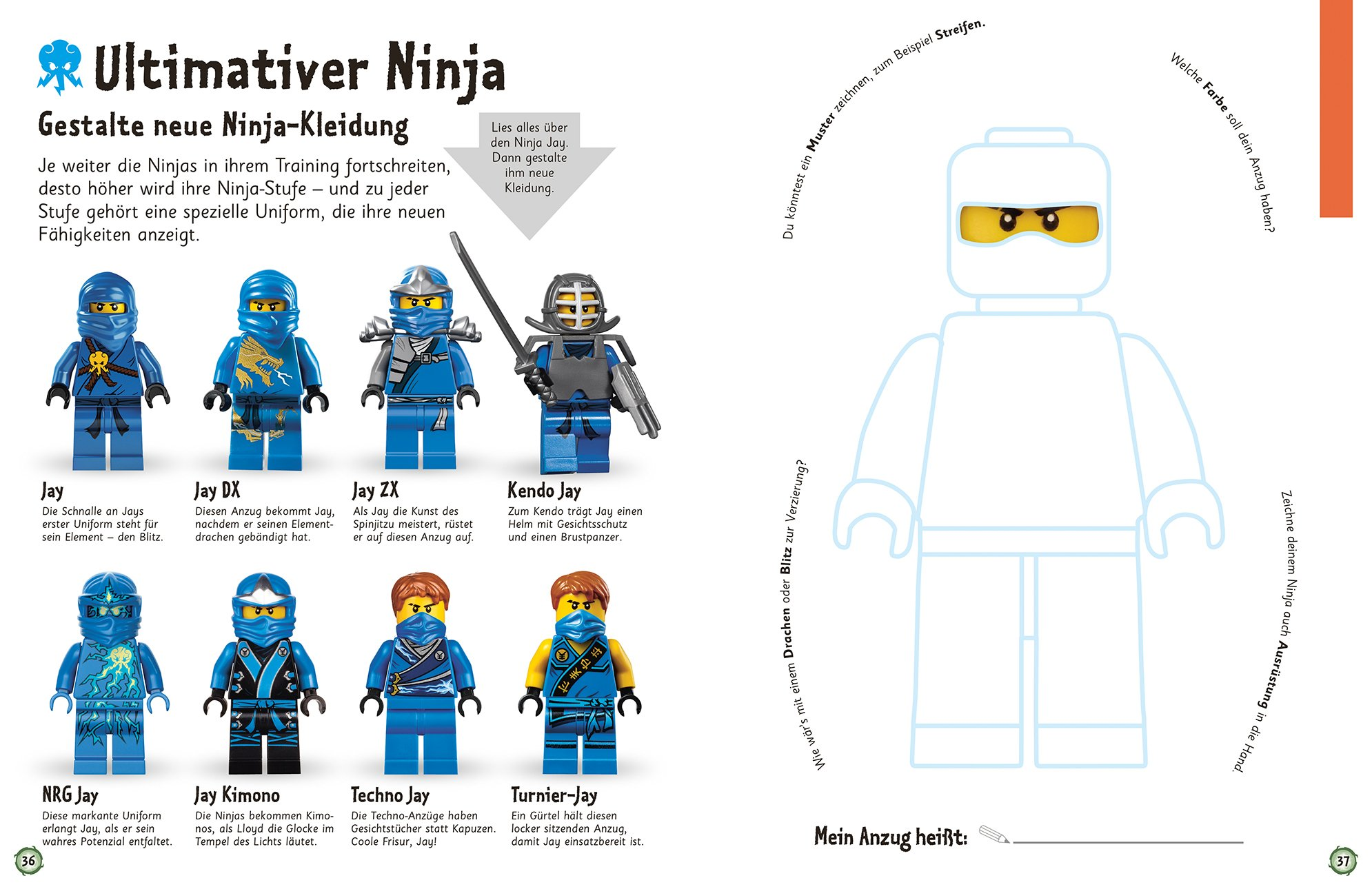 Das Mach Malbuch Lego Ninjago Master Of Spinjitzu Amazon Co Uk