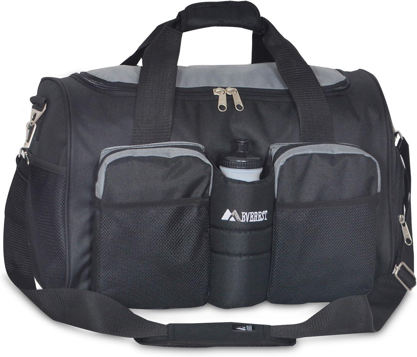 Everest Gym Bag with Wet Pocket, Royal Blue