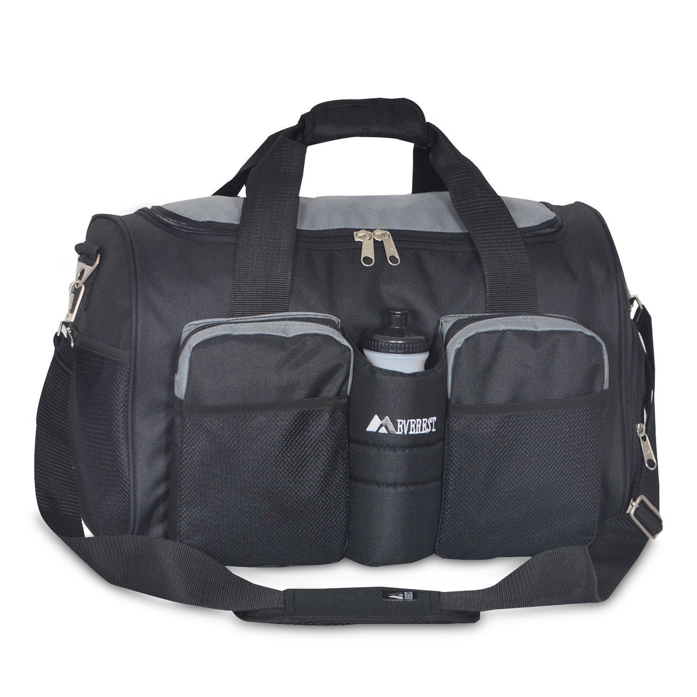 Everest S223-DGRY BK Gym Bag with Wet Pocket, Dark Gray Black, One Size   Amazon.ca  Luggage   Bags e258c5c30e