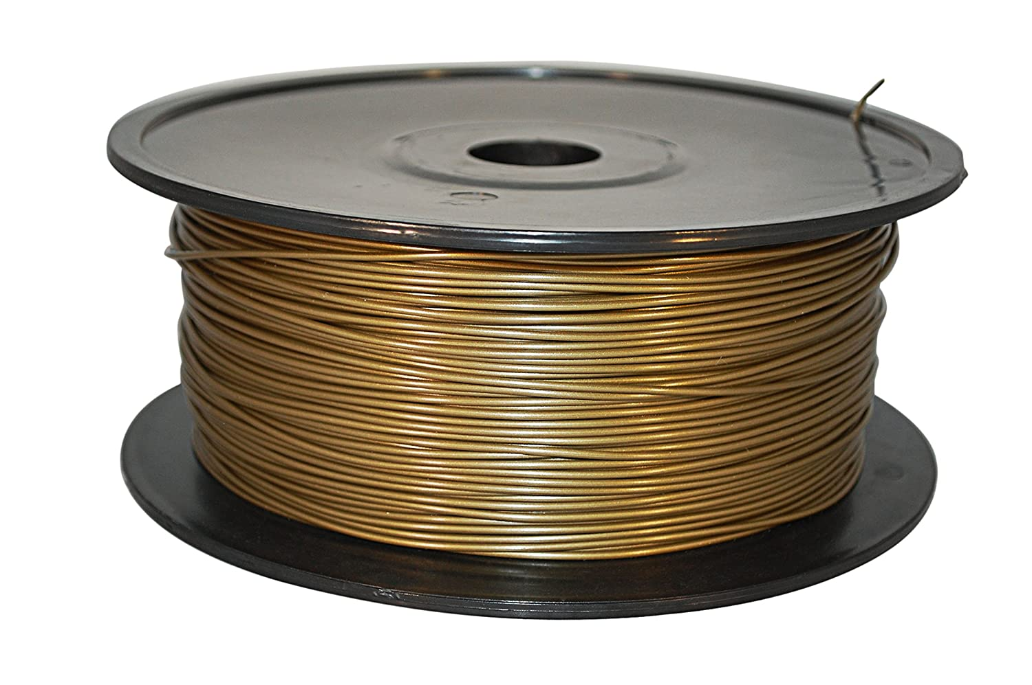 FilamentDirect 3D Printing Filament PLA 3.00 mm Gold FilamentDirect.com