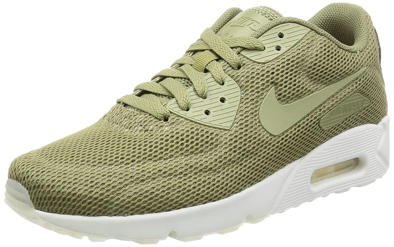 new style 97346 0ea3a Nike - Fashion Mode Air Max 90 Ultra 2.0 BR - Vert  Amazon.fr  Chaussures  et Sacs