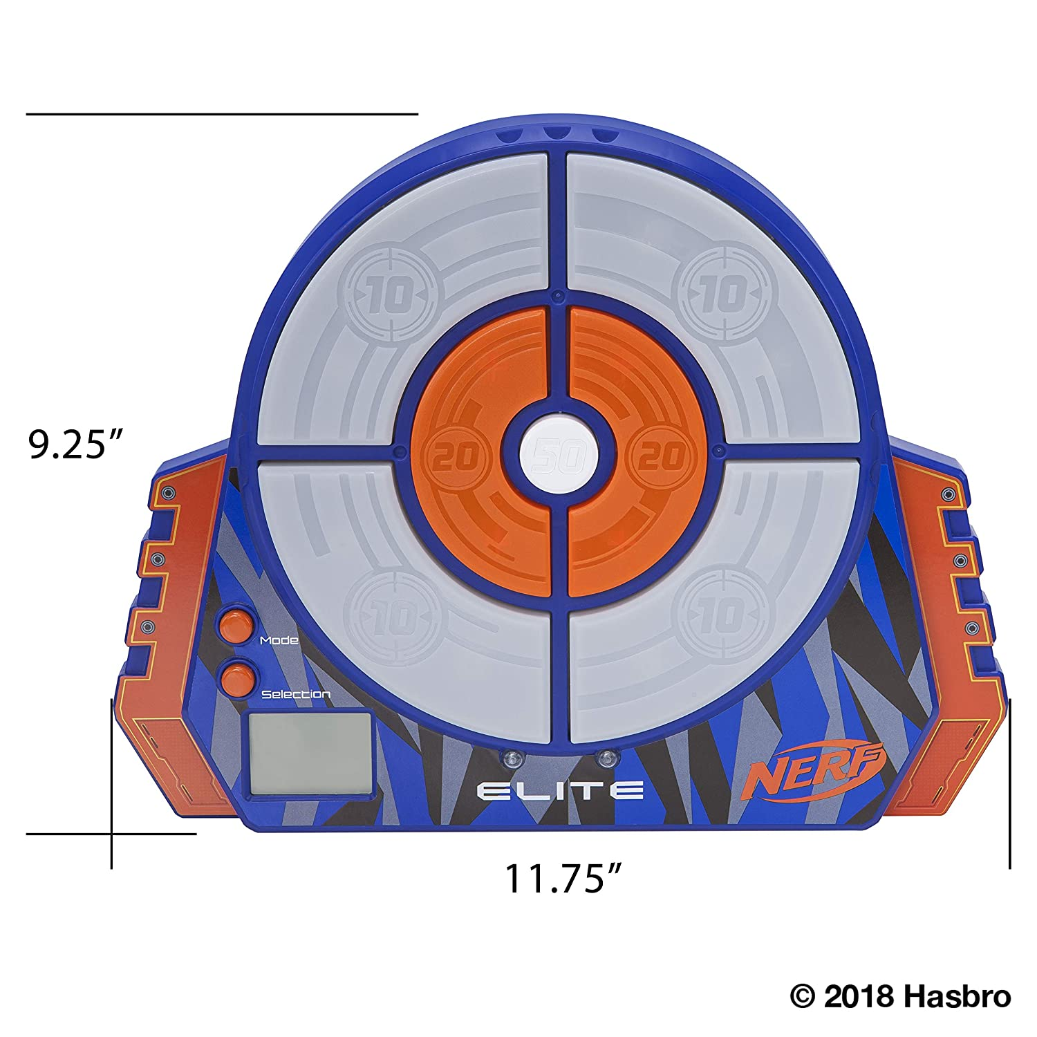 photo relating to Nerf Targets Printable called NERF Elite Electronic Concentrate Toy, Common
