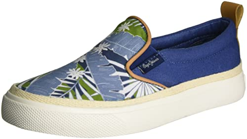 Pepe Jeans Traveler Indigo, Zapatillas para Niños: Amazon.es: Zapatos y complementos