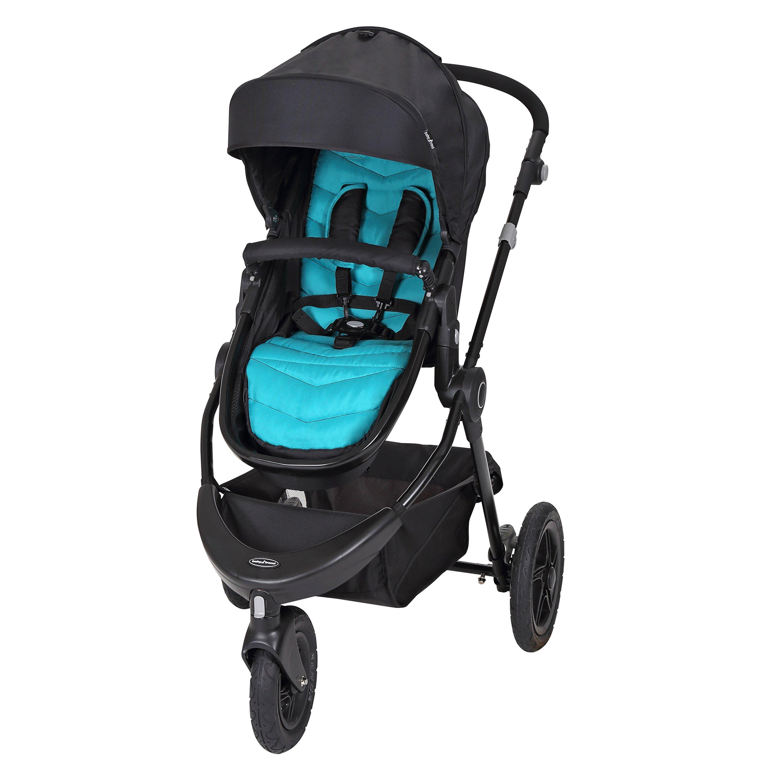 Baby Trend Debut 3 Wheel Stroller, Cascade