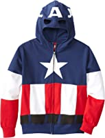 Captain America Adult & Boys 8-20 Cap A Fleece