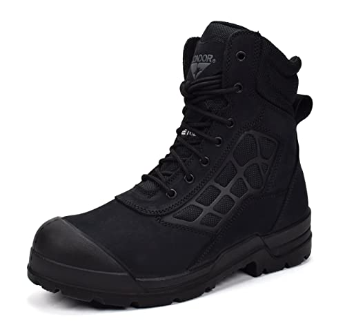 CONDOR Men's Colorado Black Nubuck 12 E US