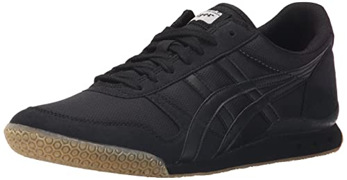 Onitsuka Tiger Ultimate 81 Fashion Sneaker, Black/Black, 4 M US