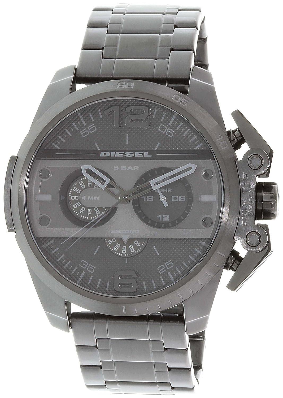 Diesel dz4362 Ironside Chronograph Mens Watch – ブラックダイヤル B018R6HO8Y