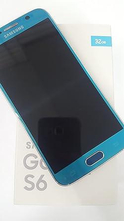 Samsung Galaxy S6 SM-G920 F – 32 GB – Azul topacio ...