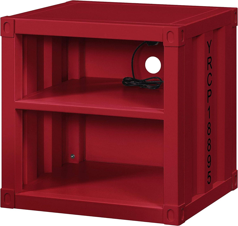 ACME Cargo Nightstand (USB) - - Red