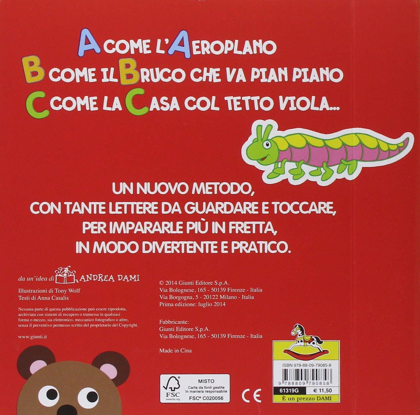 Buy Per I Piccolissimi Il Mio Primissimo Abc Book Online At Low