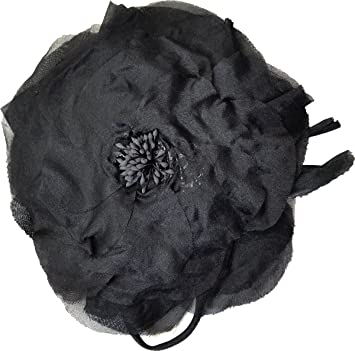 Amazon giovannio womens black rose silk flower hat pin giovannio womens black rose silk flower hat pin accessorie mightylinksfo