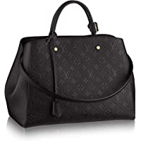 New!! MONTAIGNE Style Leather Handbags On promotion 13.0 x 9.1 x 5.9 inches