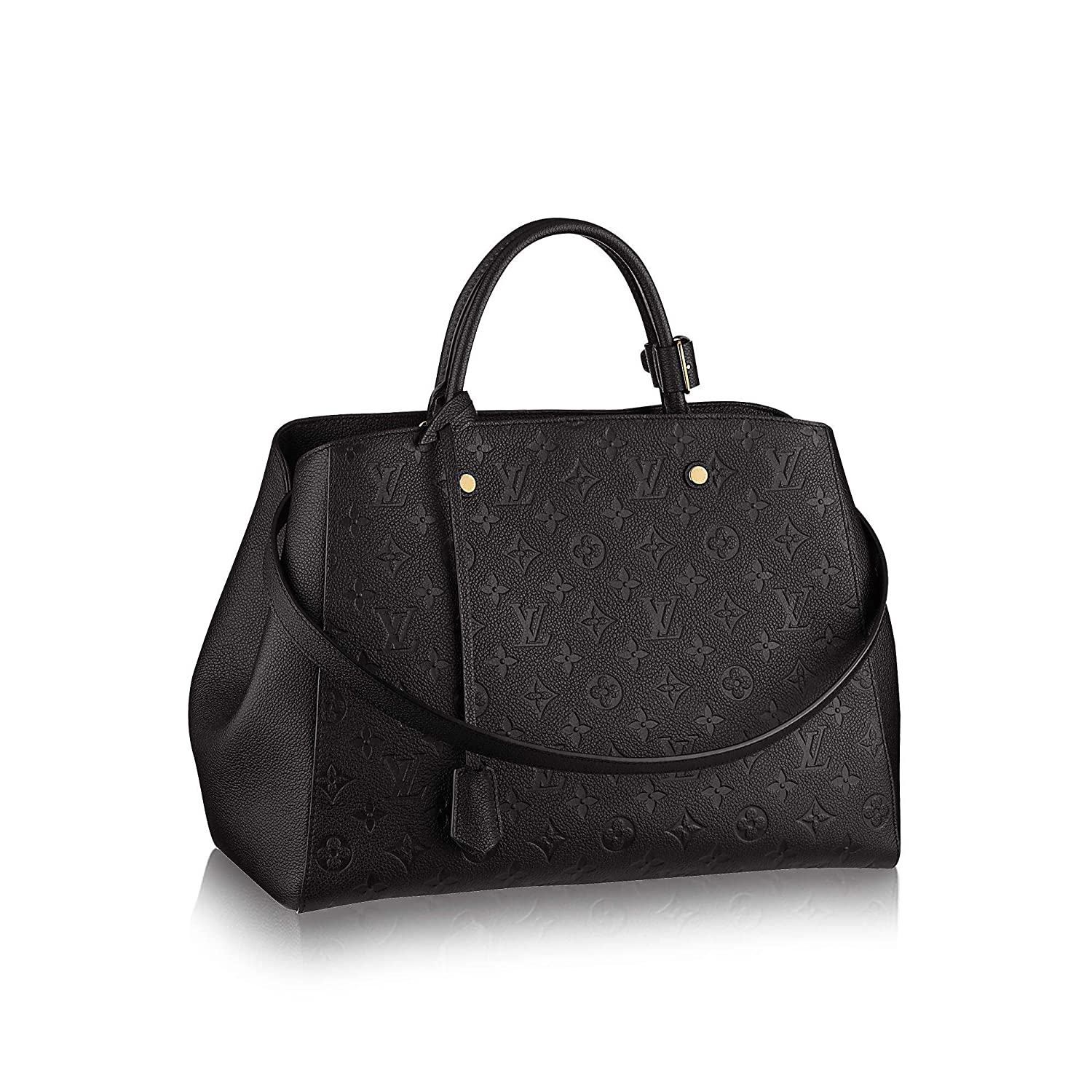 6173ac8f04c02 Amazon.com: New!! MONTAIGNE Style Leather Handbags On promotion 13.0 x 9.1  x 5.9 inches: Cell Phones & Accessories