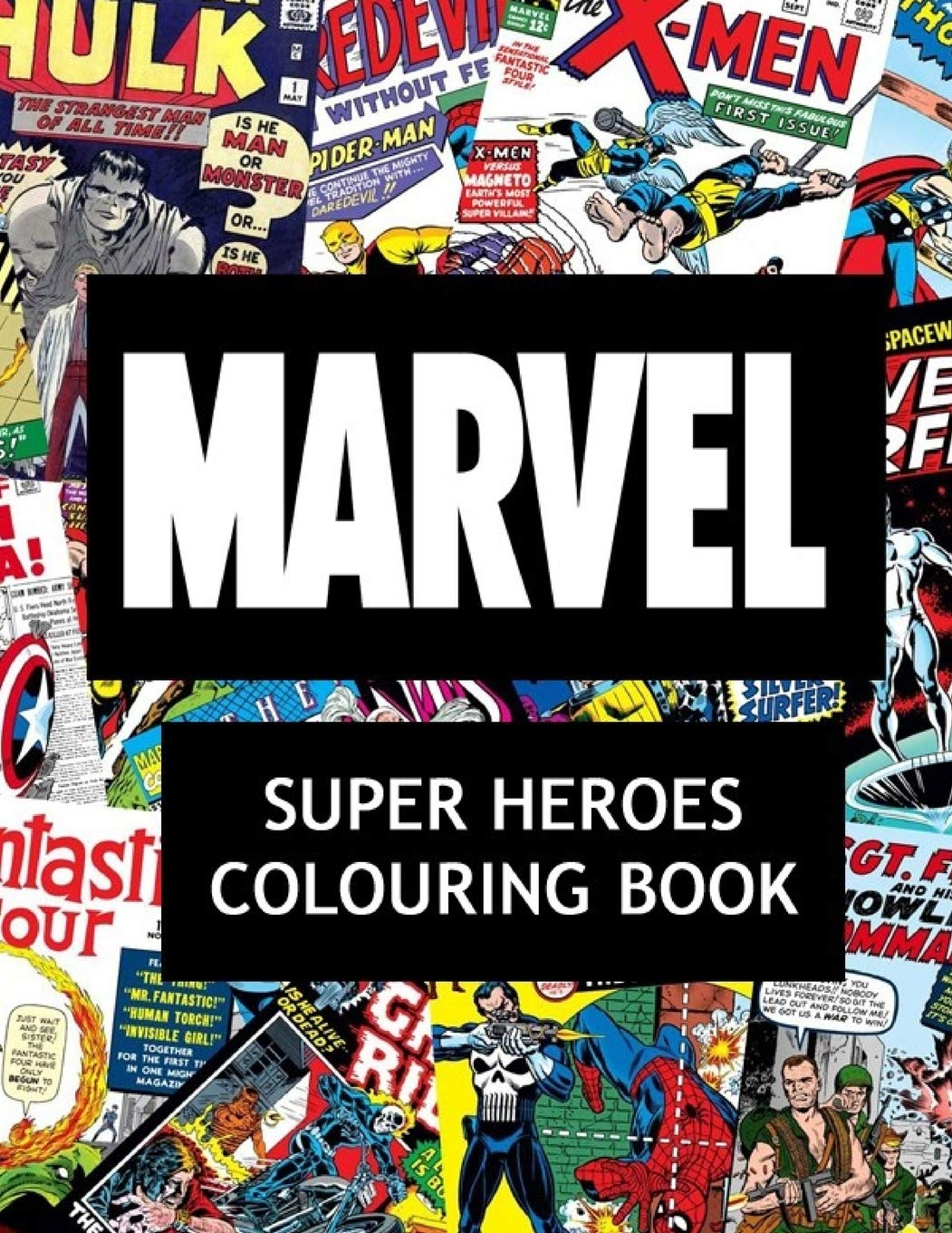 - Marvel Super Heroes Colouring Book: Amazon.in: Jackson, James: Books