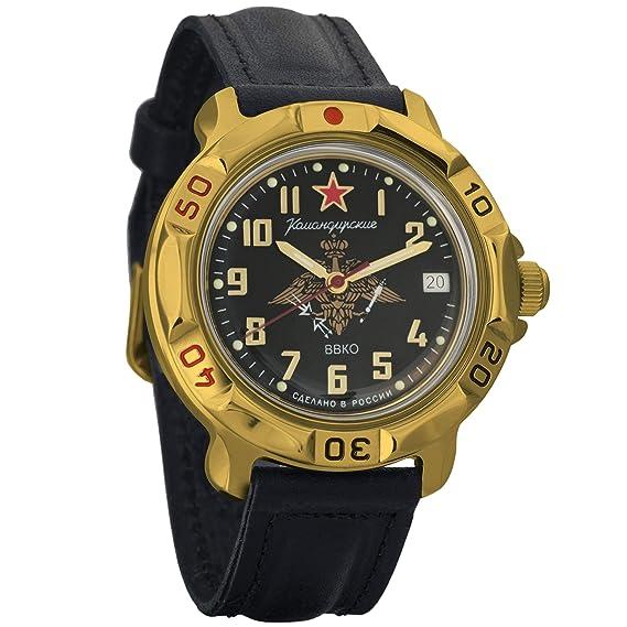 Vostok KOMANDIRSKIE 2414 819632 Militar ruso reloj mecánico