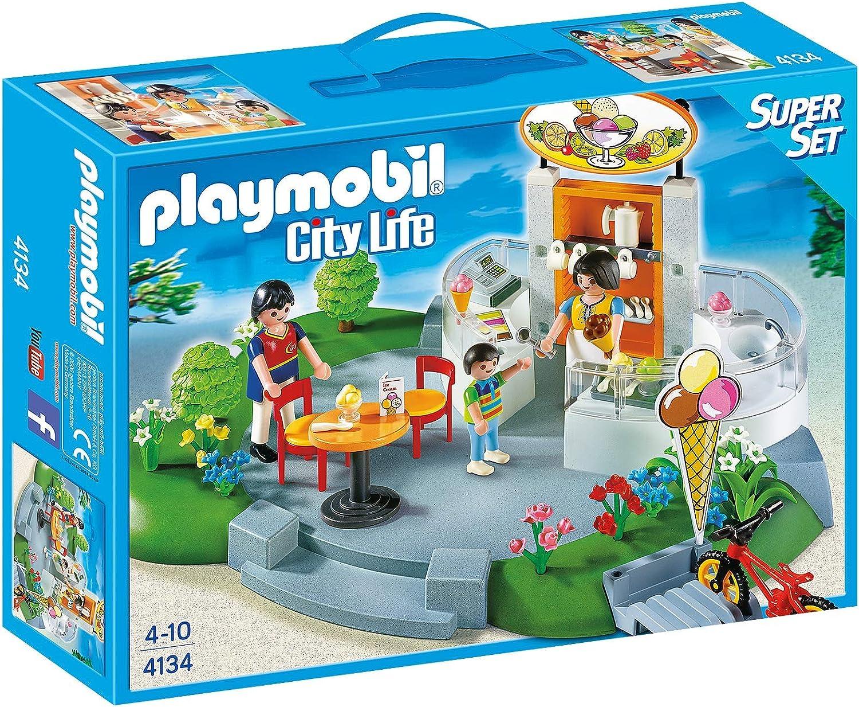 PLAYMOBIL Super Set Heladería: Amazon.es: Juguetes y juegos