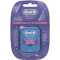 Oral-B 3D White Luxe Seda Dental Menta Radiante