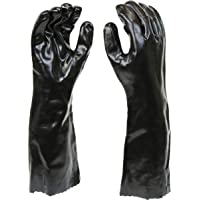 "West Chester 12018 Chemical Resistant PVC Coated Work Gloves: 18"" Length, One Size Fits Most, 1 Pair"