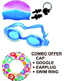 Royals INTEX Swimming Rings for Kids (Swim Combo + Ring 20INCH)