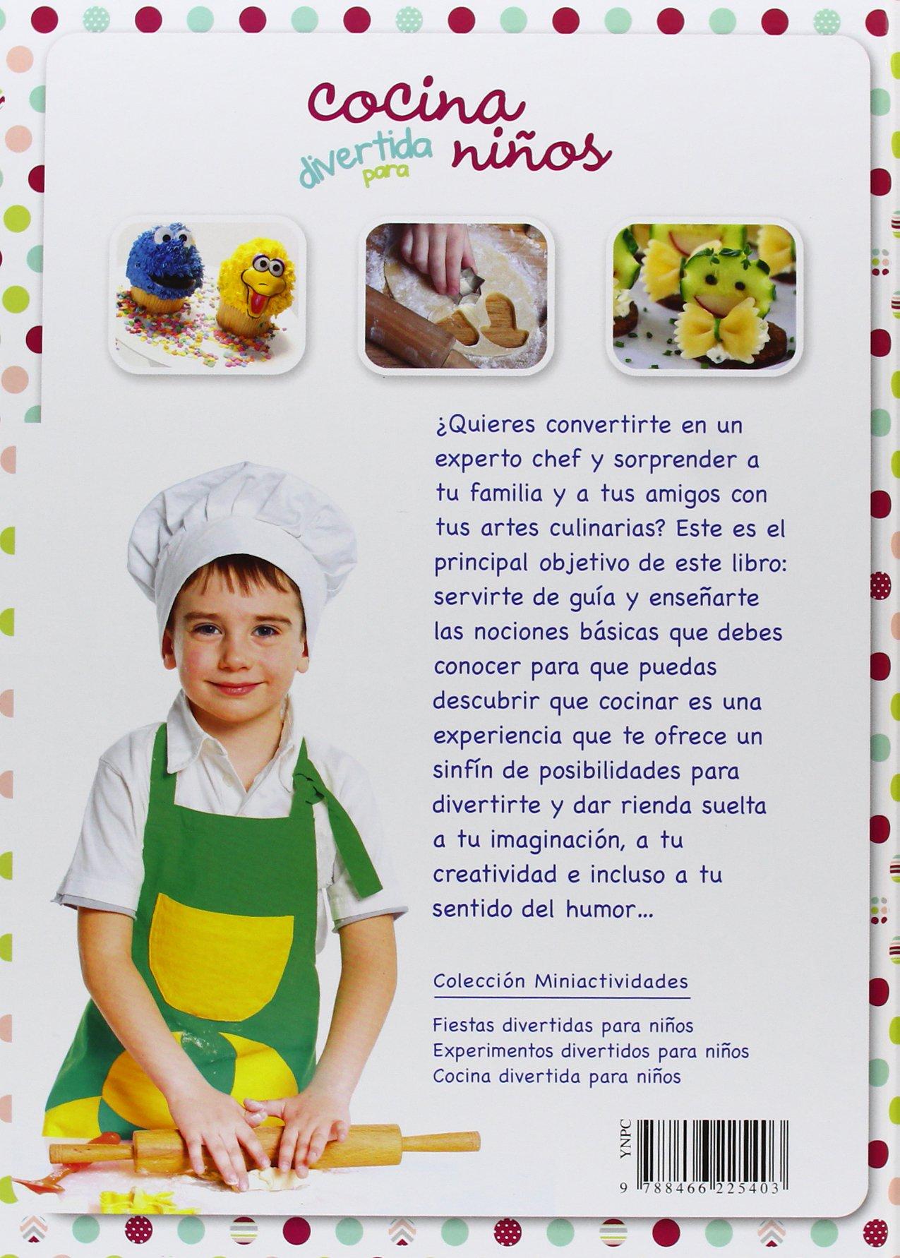 Nice Cocina Divertida Para Niños (Miniactividades): Amazon.es: Carla Nieto  Martínez: Libros