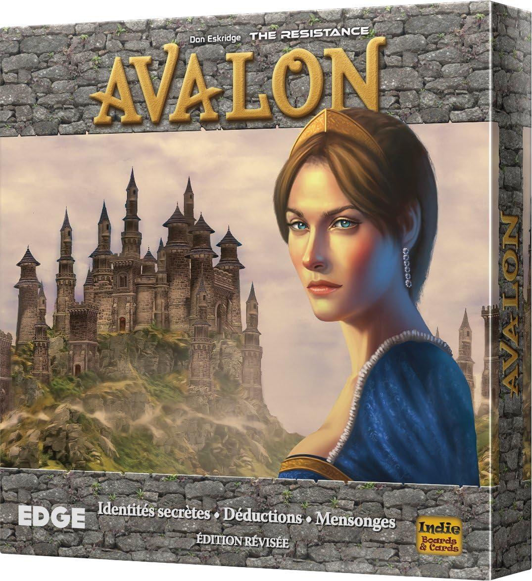 Asmodee – The Resistance: Avalon, efinre04, no precisa: Amazon.es ...