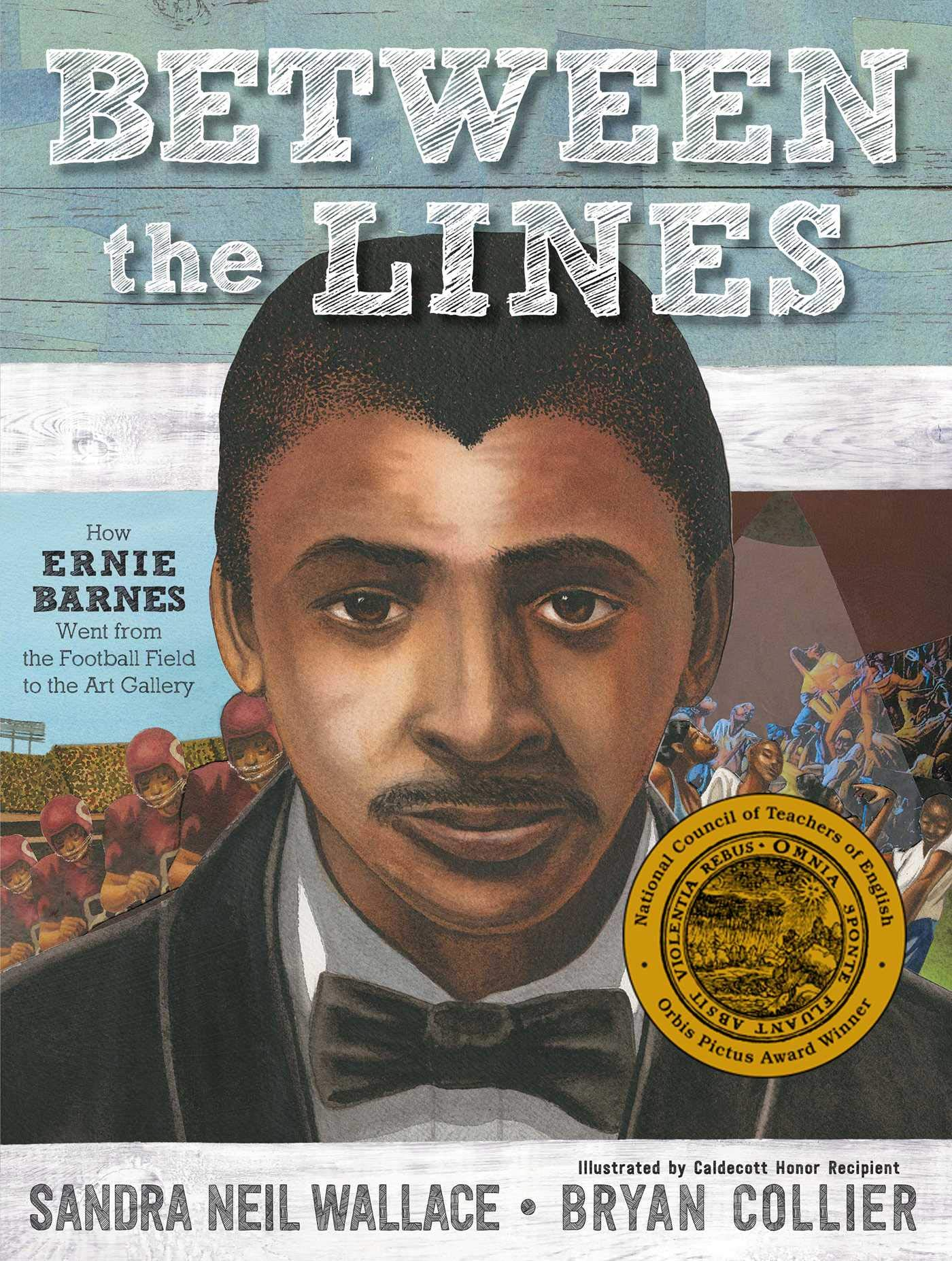 How Ernie Barnes Went from the Football Field to the Art  Gallery_Picture Book Biographies