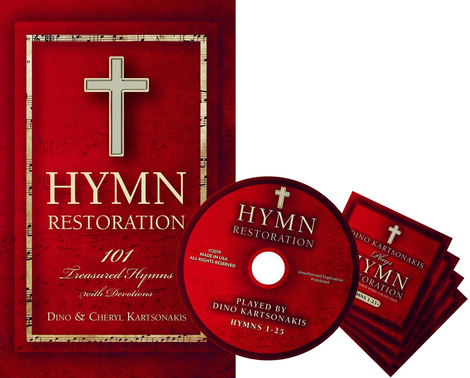 Hymn Restoration Book And Cd Set Bundle Kartsonakis Cheryl Kartsonakis Dino 9781946497987 Amazon Com Books