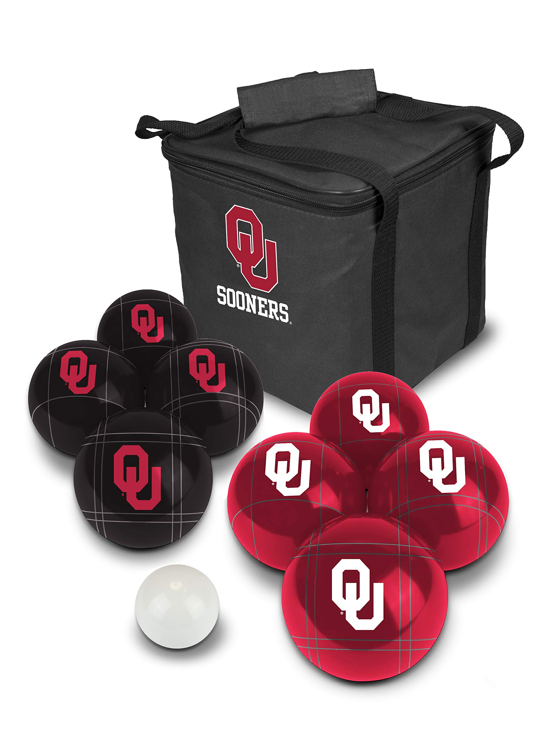 PROLINE NCAA College Oklahoma Sooners Bocce Ball Set by PROLINE
