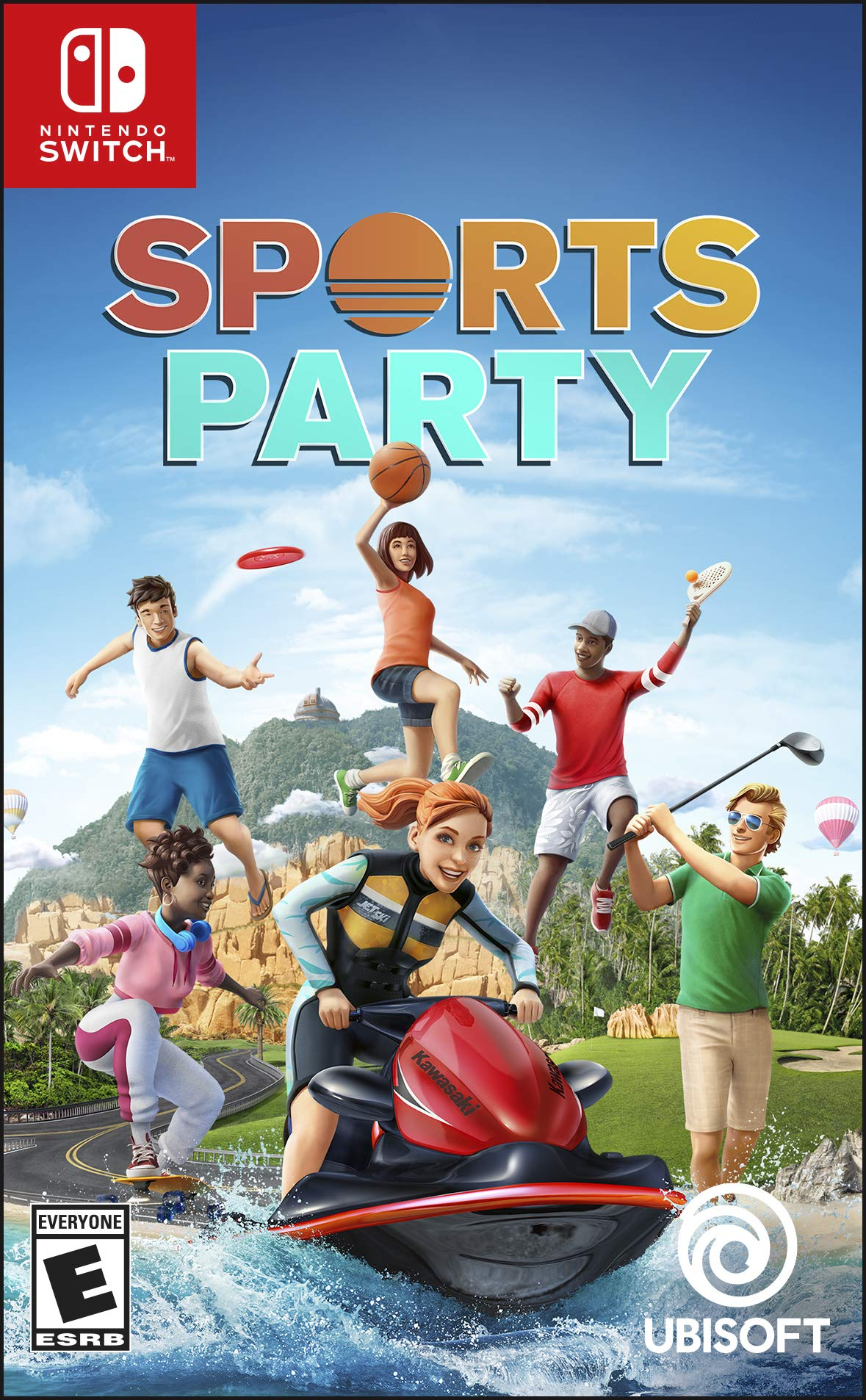 e06cfa094 Amazon.com: Sports Party - Nintendo Switch Standard Edition: Ubisoft ...