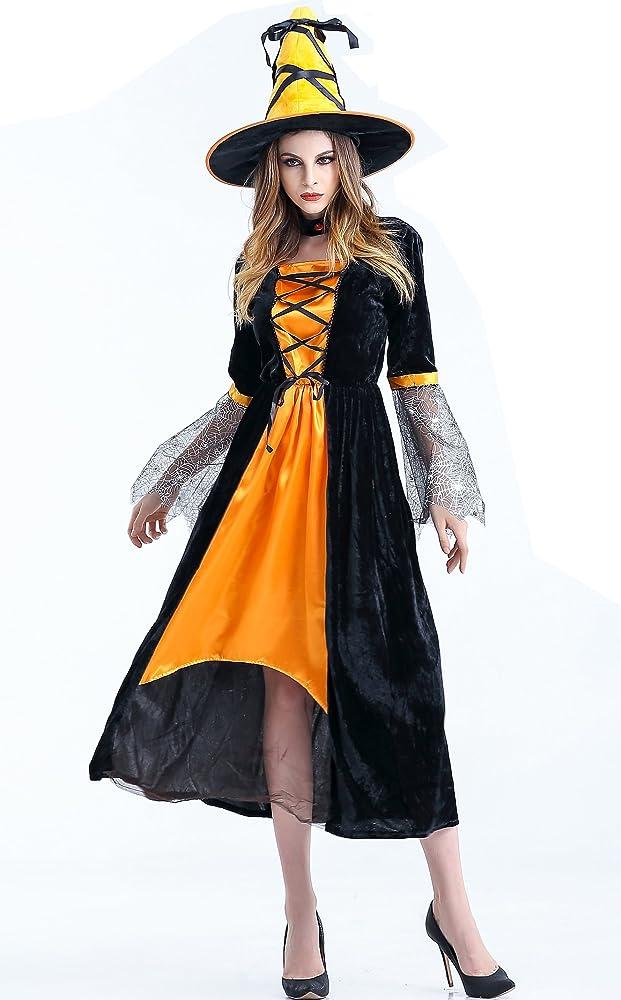 Suki Baby adultos hechicera disfraz Deluxe Bruja Mujer Vestidos ...